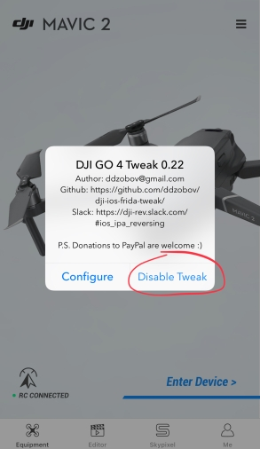DJIGo4-tweak
