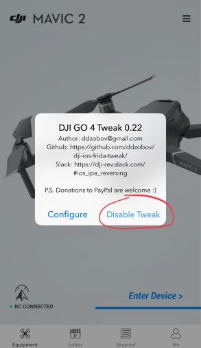 DJIGo4-tweak